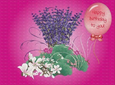 image encre la nature happy birthday balloon edited by me