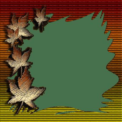 Autumn Frame Automne Autumn Fall Frames Framework