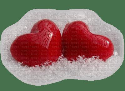 HEARTS  SNOW coeur hiver deco