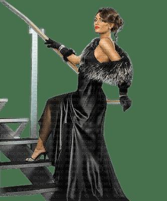 Mulher de preto