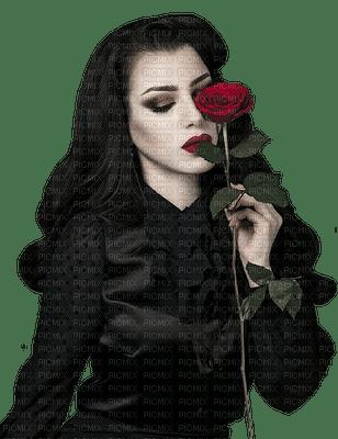 goth woman femme