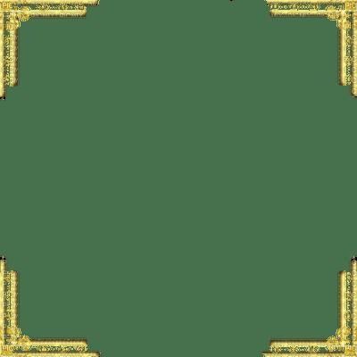 gold corner frame deco