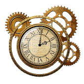 steampunk clock bp
