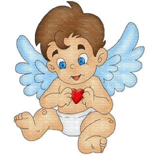 Kaz_Creations Valentines Love Cute Baby Angels