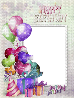 frame-happy-birthday, frame-happy-birthday - PicMix