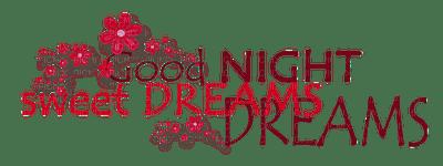 good night text deco sweet dreams - PicMix