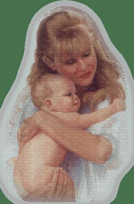 femme Pelageya bebe