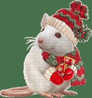 mouse maus souris white animal animals   christmas noel xmas weihnachten Navidad рождество natal  tube