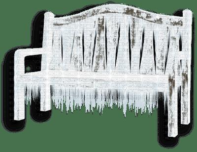 bench winter hiver banc