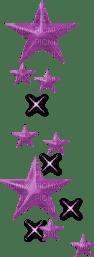 Purple Deco Stars
