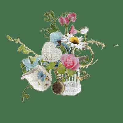 deco flowers vintage dolceluna