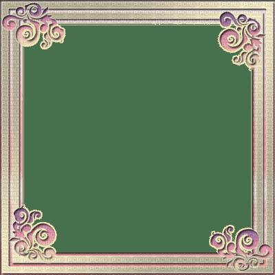 Frame Beige Violet  - Bogusia