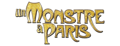 Kaz_Creations Text Logo Un  Monstre a Paris