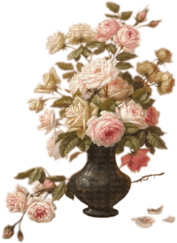 Vase of pink roses Joyful226, Connie