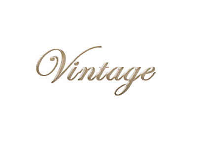 text vintage brown