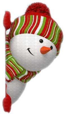 snow man bonhomme de neige