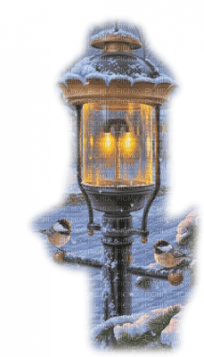 winter lamp