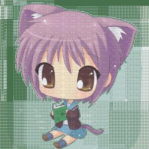 Manga chat fille picmix - Fille manga chat ...