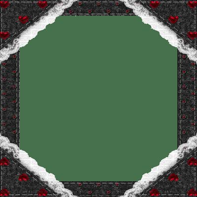black frame lace cadre noir dentelle