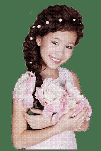 child girl rose enfant fille 👧🌹