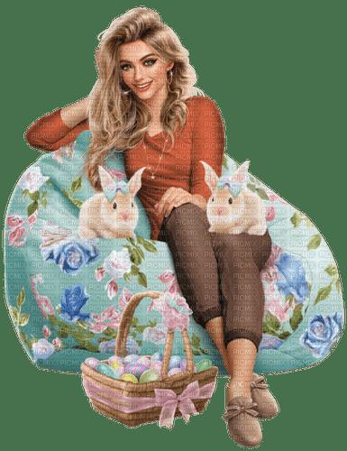 Woman. Easter. Leila