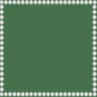 Deco Pearl Frame~White©Esme4eva, Deco , Pearl , Frame ...