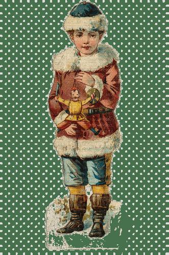 christmas vintage child enfant noel