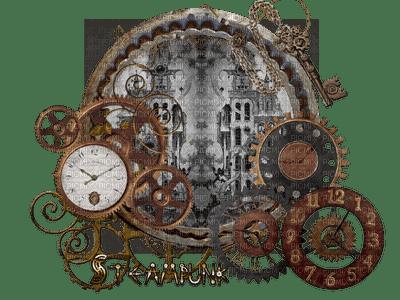 steampunk clock bp