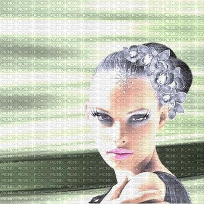 image encre effet néon couleur texture femme visage mariage edited by me