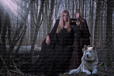 queen gothic woman laurachan