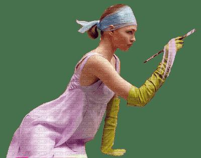 Kaz_Creations Woman Femme Painting Painter