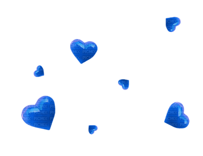 Kaz_Creations Heart Hearts Love Valentine Valentines Blue