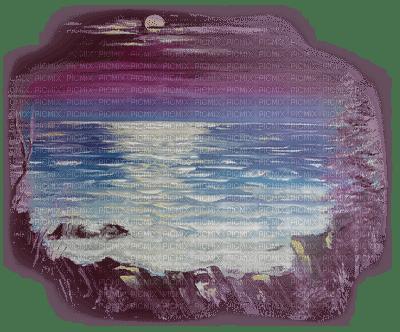 paysage mer pastel paradis