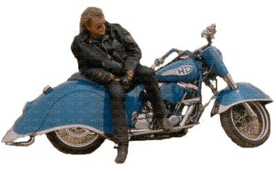 homme a moto