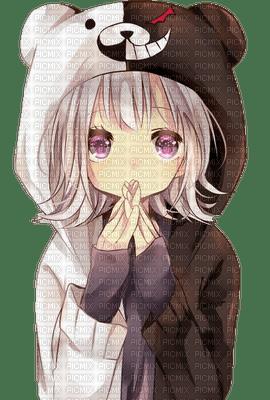 Chiaki Nanami in Monokuma costume