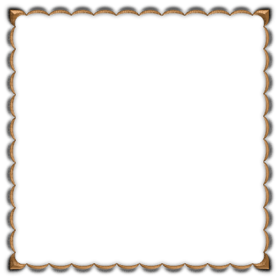 munot - rahmen braun beige - brown beige frame - cadre brun beige