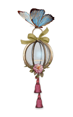 Light, Lights, Lamp, Lamps, Lantern, Lanterns, Fairy, Fairies, Butterfly, Butterflies, Flower, Flowers, Pink, Blue, Yellow, Deco - Jitter.Bug.Girl