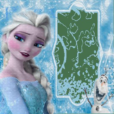 elsa frozen queen frame, elsa - PicMix