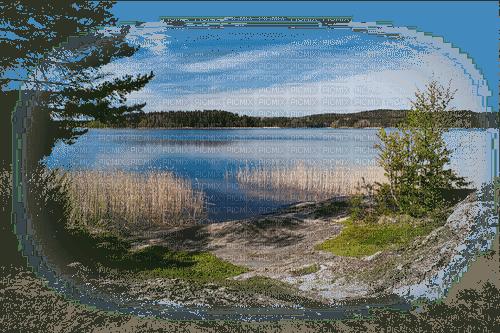 landskap- sjö