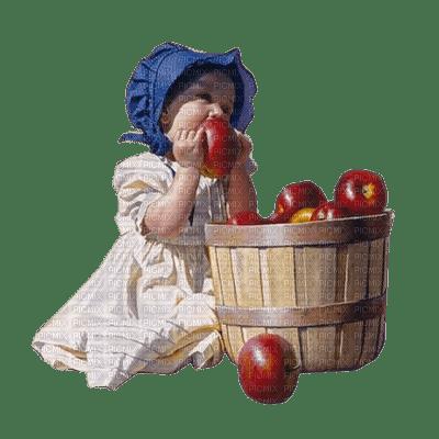 child apple enfant pomme