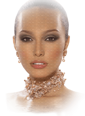 soave woman face fashion pink beige