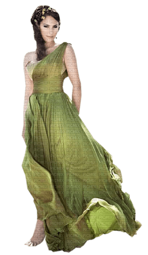 woman green femme vert💚