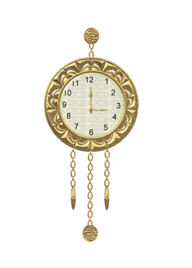 Clock, Clocks, Time, Deco, Decoration, Gold  - Jitter.Bug.Girl