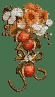 Déco fleurs et oranges