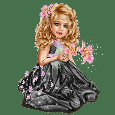 fée,bebe,fleur,enfant,visage, fille, Fantasy, deko,tube,Orabel