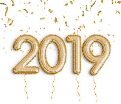 2019 text gold deco or