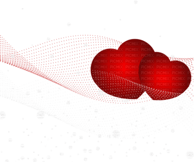 hearts red valentine deco coeur rouge