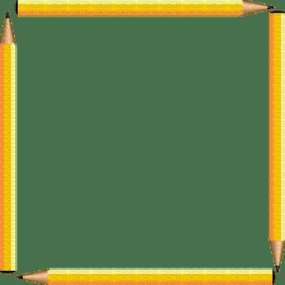 school pencil frame