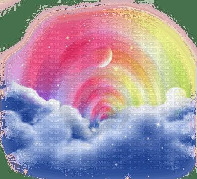 lu lune ciel etoile nuage sky moon star cloud