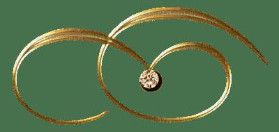 Gold Scroll Pendant